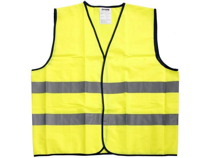 Halfords Essentials Hi Visibility Vest