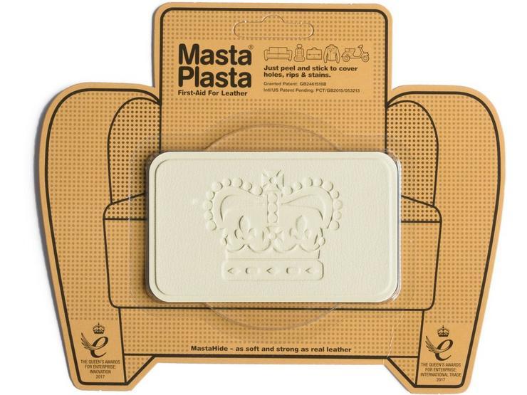 Mastaplasta Ivory Medium 10x6cm Crown