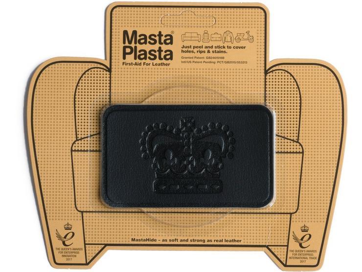 Mastaplasta Black Medium 10x6cm Crown