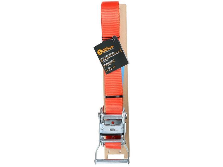 Halfords Essentials 6m Ratchet Strap