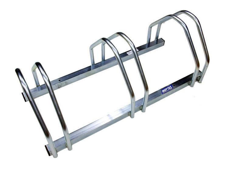 Mottez 3 Bike Floor Rack