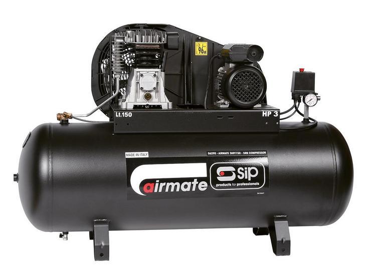 SIP Airmate 3HP/150-SRB Air Compressor