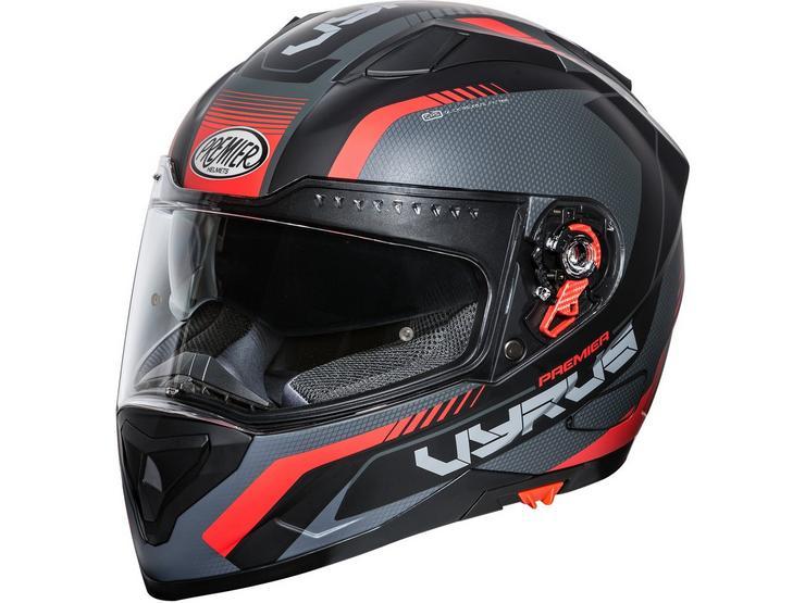 Premier Vyrus Helmet Matt Black / Red