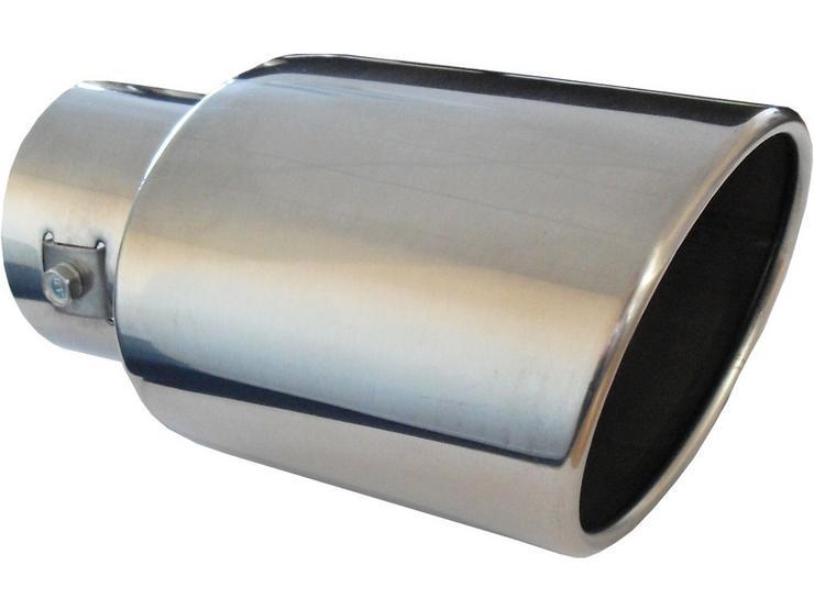 Simply Oval Slant Exhaust Trim 51 - 55mm