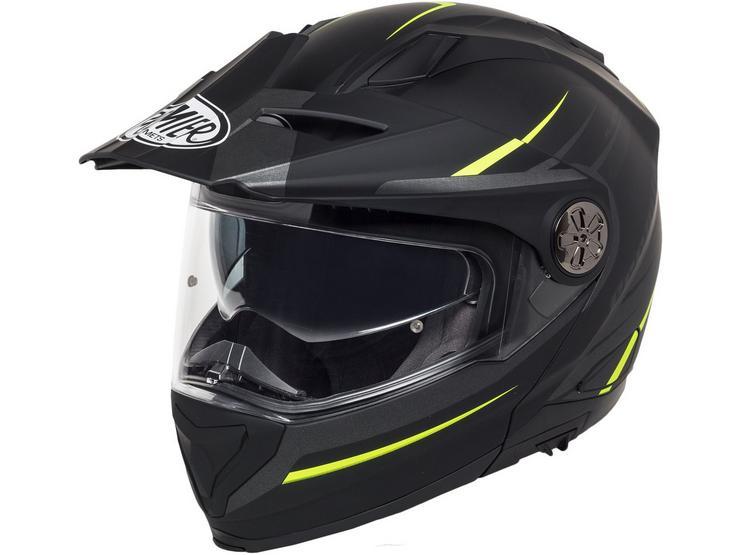 Premier X Trail Helmet Black/Neon
