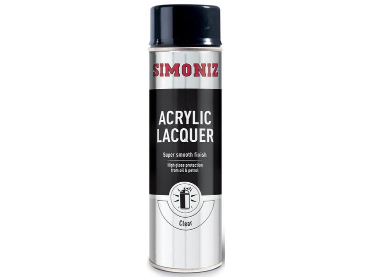 Simoniz Clear Acrylic Lacquer 500ml