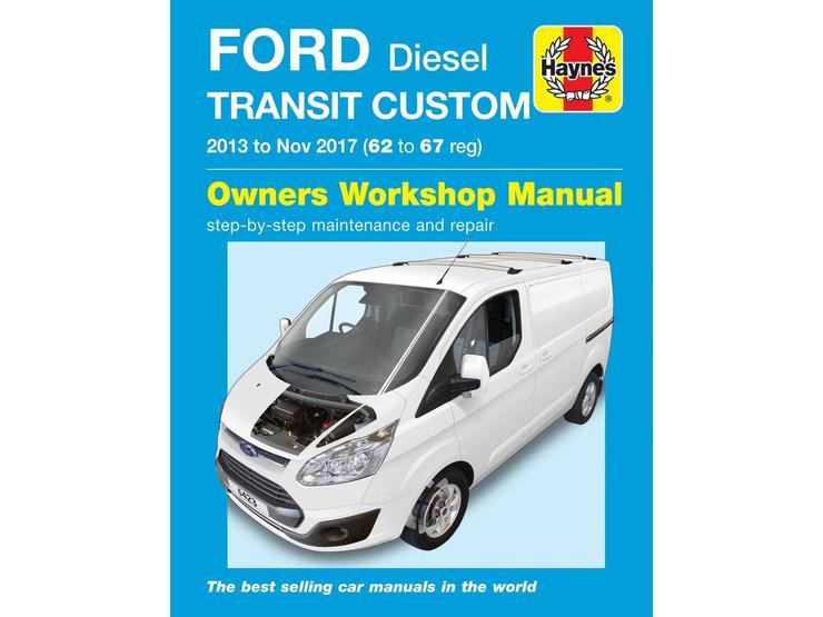 Haynes Ford Transit Custom Diesel (13-17) Manual