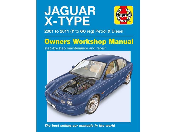 Haynes Jaguar X Type Petrol & Diesel (01-11) Manual