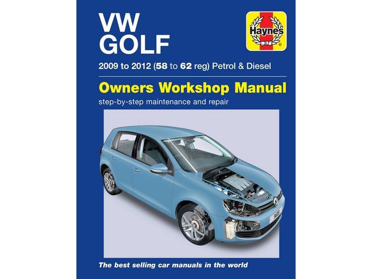 Haynes VW Golf Petrol & Diesel (09-12) 58 – 62 Manual