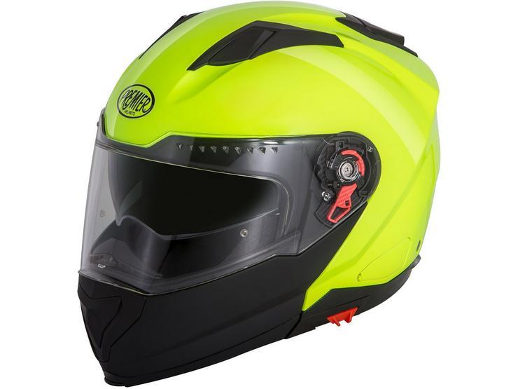 Premier Delta Flip Front Helmet Fluo