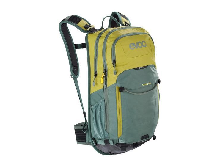 Evoc Stage 18L Performance Backpack - Moss Green/Olive