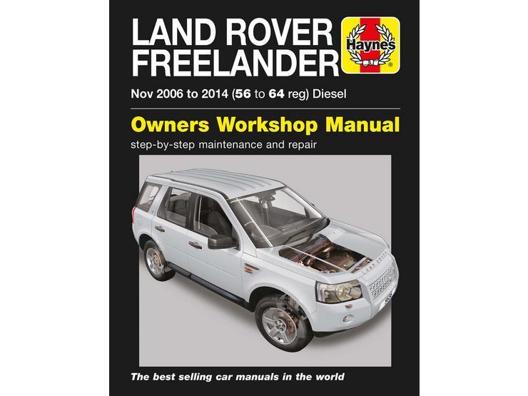 Haynes Land Rover Freelander Diesel (06-14) Manual