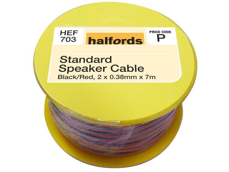 Halfords Standard  Speaker Cable HEF703