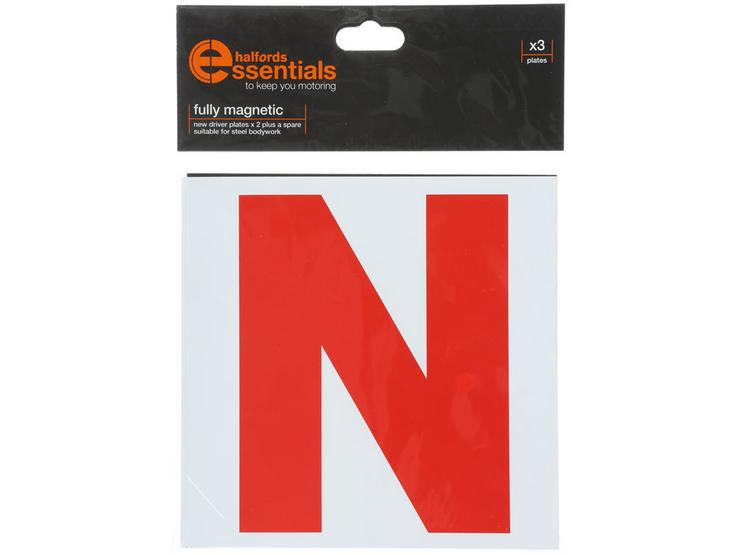Halfords Magnetic N Driver Plates x3