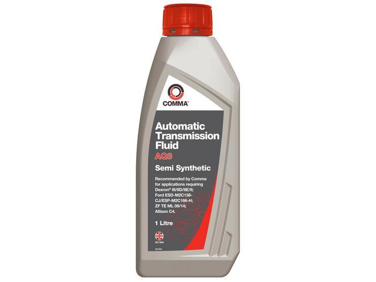Comma AQ3 Automatic Transmission Fluid 1L