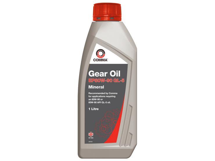 Comma Gear Oil EP80W90 GL5 1L