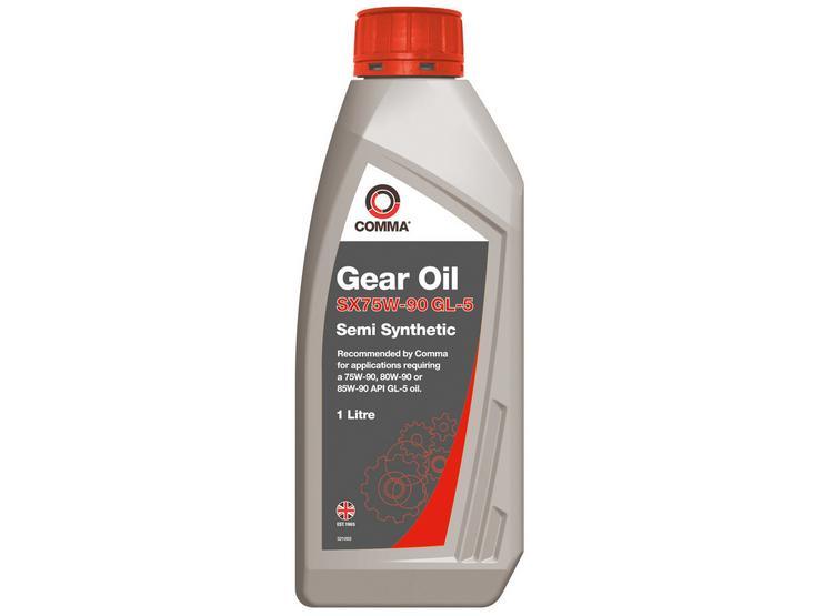 Comma SX75W90 Gear Oil GL5 1L