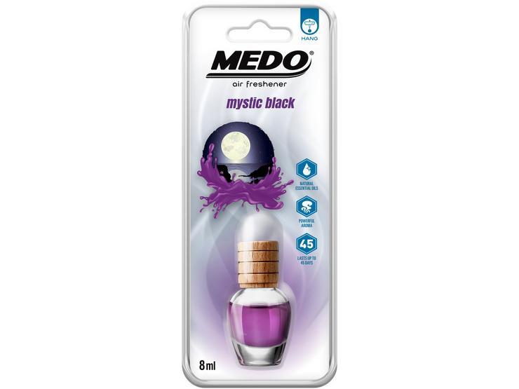 MEDO 8ml Hanging Glass Jar Mystic Black