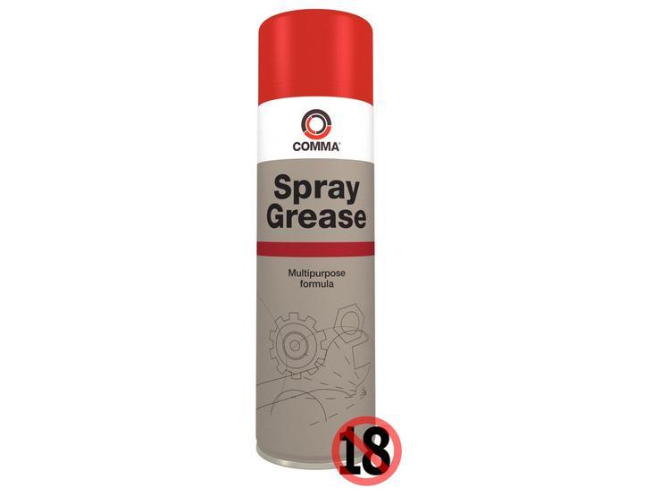 Comma Spray Grease 500ml