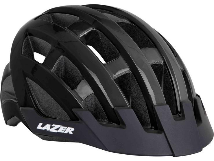 Lazer Compact Helmet Flash Black
