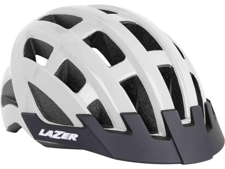 Lazer Compact Helmet Flash White