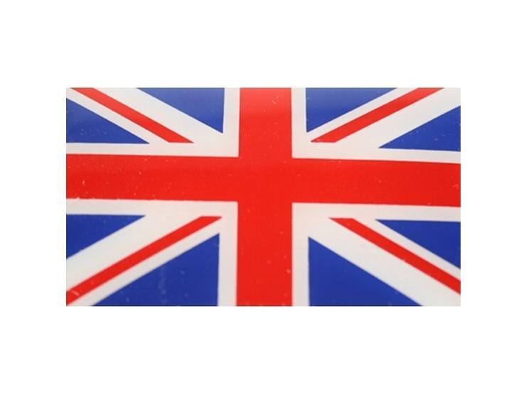 Union Jack Flag Car Sticker