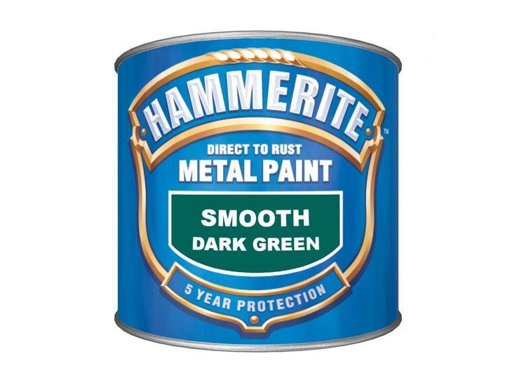 Hammerite Smooth Finish Dark Green 250ml