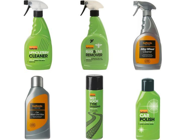 Halfords Car Cleaning Essentials Value Bundle