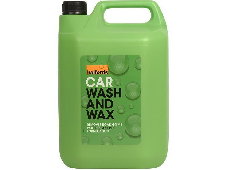 Halfords Car Wash 5 Litre