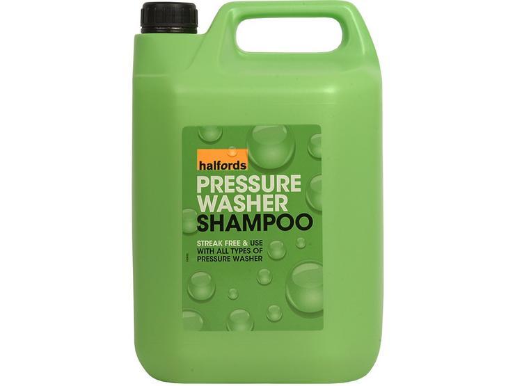 Halfords Pressure Washer Shampoo 5 Litre
