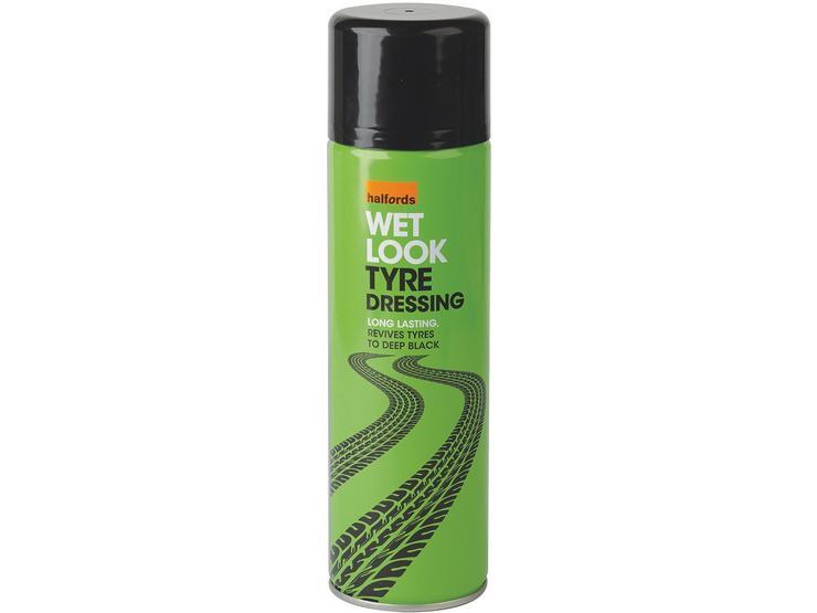 Halfords Wet Look Tyre Dressing 500ml