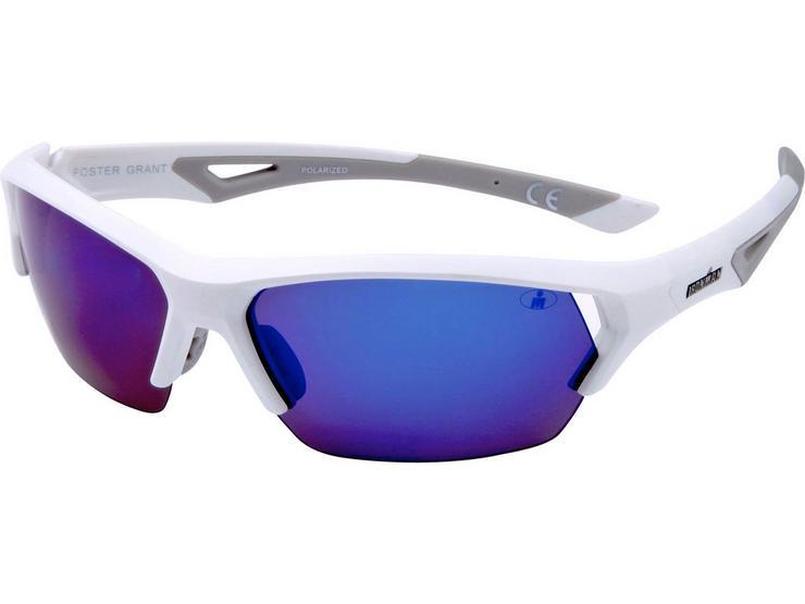 Foster Grant Excursion White Sunglasses