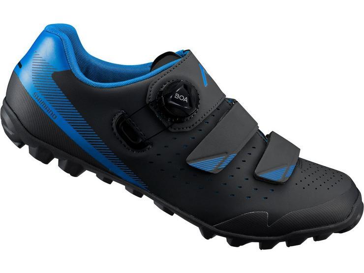ME4 SPD MTB shoes, black - blue, size 38