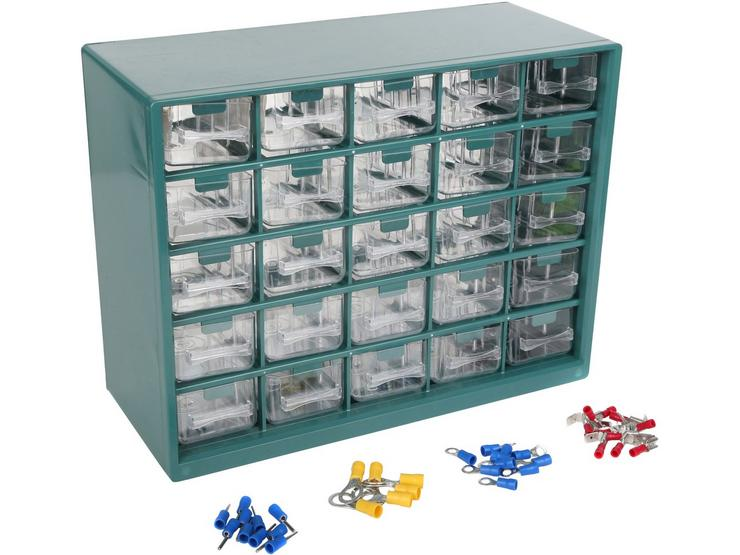 Halfords Assorted Electrical Terminal Draw Box