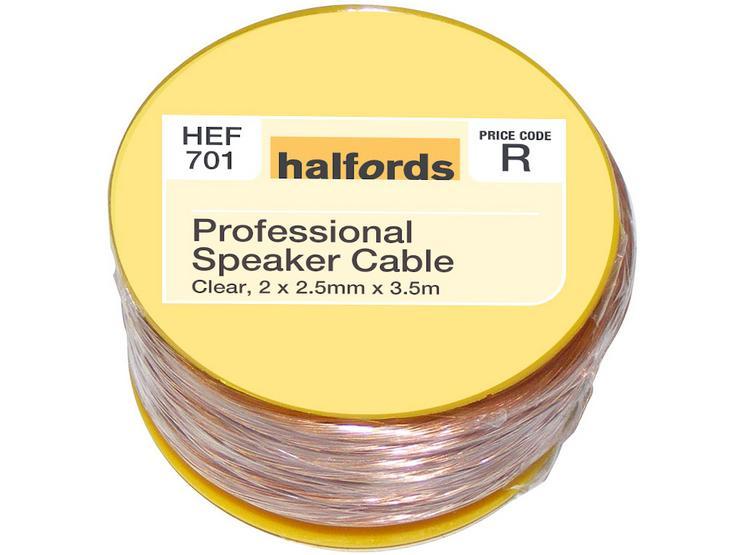 Halfords Professional Speaker Cable HEF701