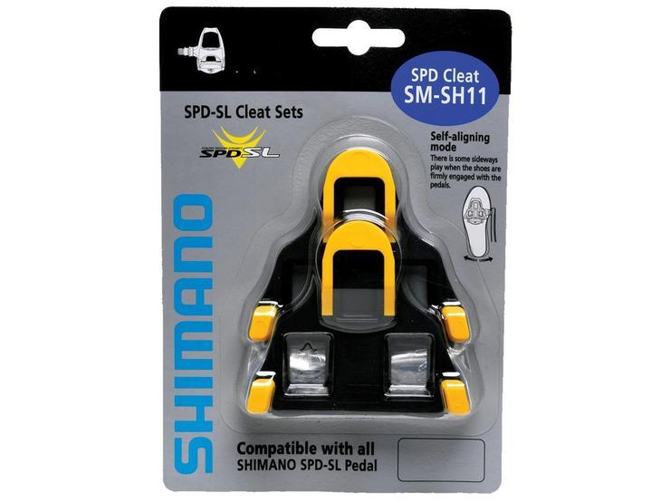 SM-SH11 SPD SL-Cleats , Centre Pivot Floating, Yellow
