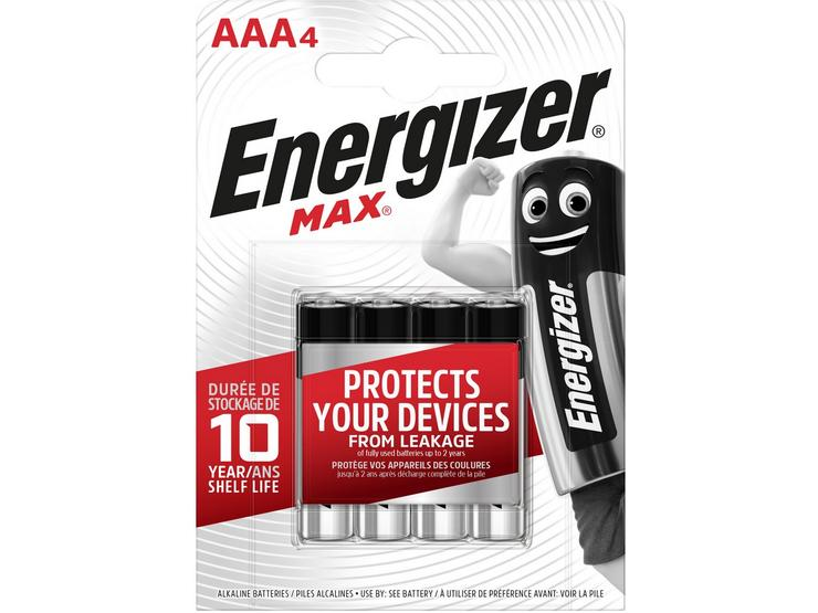 Energizer Ultra Plus AAA 4 Pack