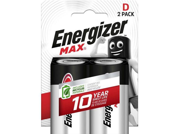 Energizer Ultra Plus D Batteries 2 Pack