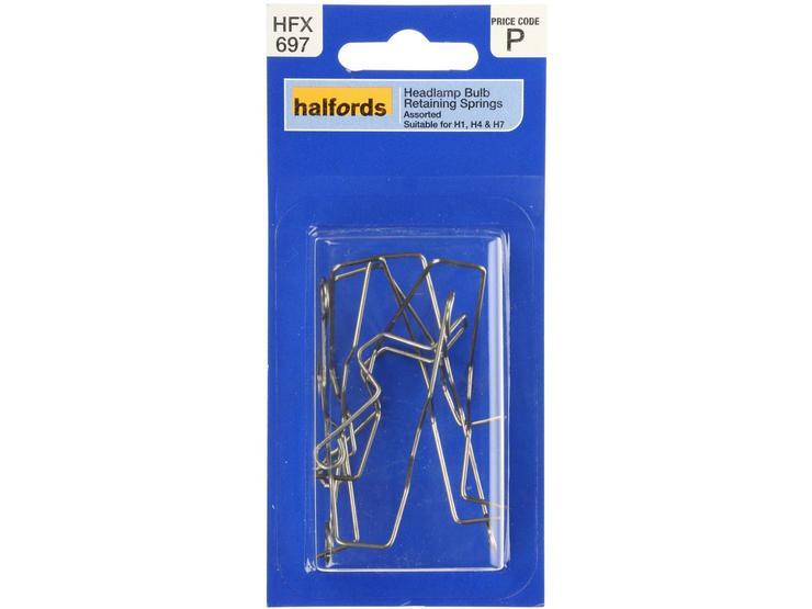 Halfords Assorted Headlamp Retaining Spring HFX697