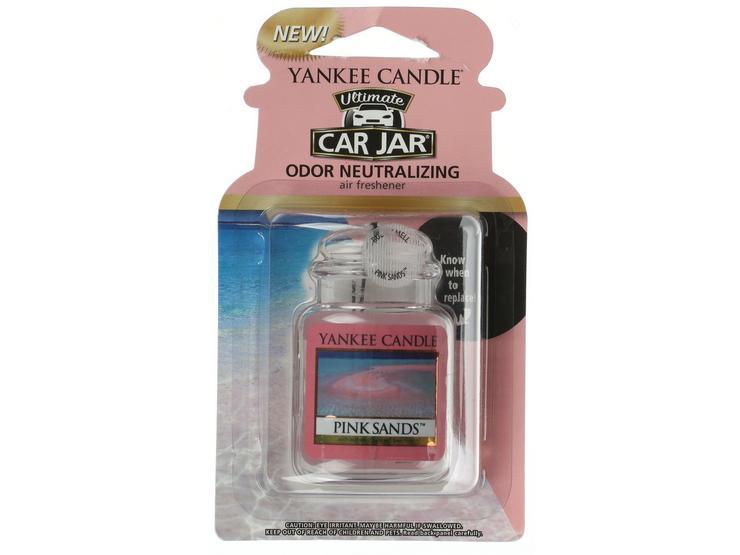 Yankee Candle Car Jar Ultimate Air Freshener in Pink Sands