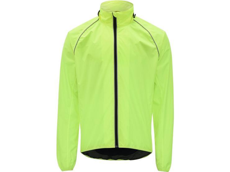 Ridge Unisex Waterproof Jacket - Fluorescent Yellow