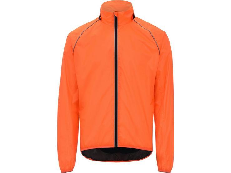 Ridge Unisex Waterproof Jacket - Fluorescent Orange