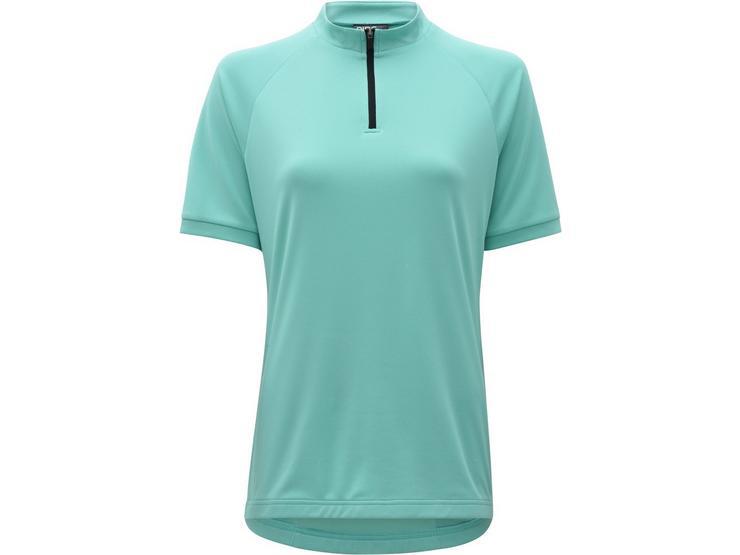 Ridge Womens Cycling Jersey - Fluro Turquoise