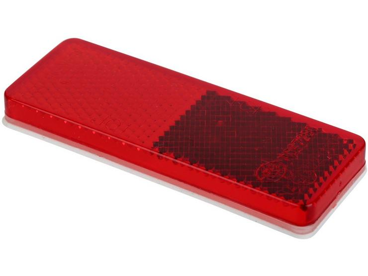 Red Reflectors 85 x 30mm - Pack of 2