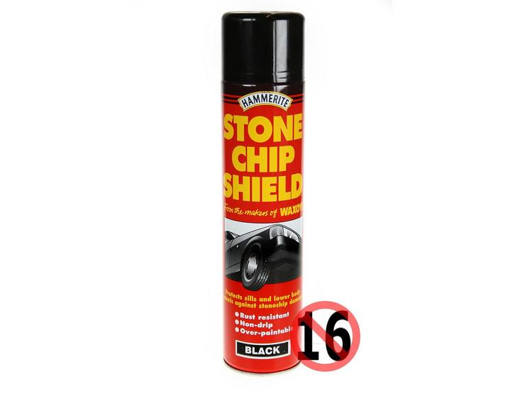 Hammerite Stonechip Shield Black 600ml