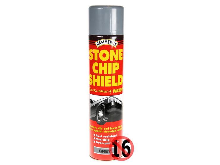 Hammerite Stonechip Shield Grey 600ml