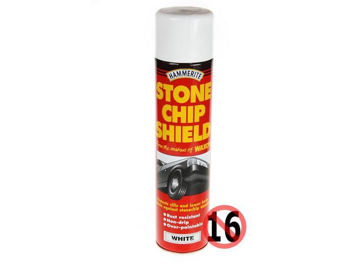 Hammerite Stonechip Shield White 600ml