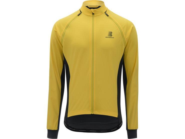 Boardman Mens Windproof Removable Sleeve Jacket - Yellow