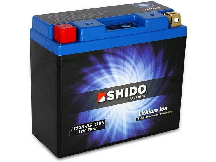 Shido Lithium Battery LT12B-BS