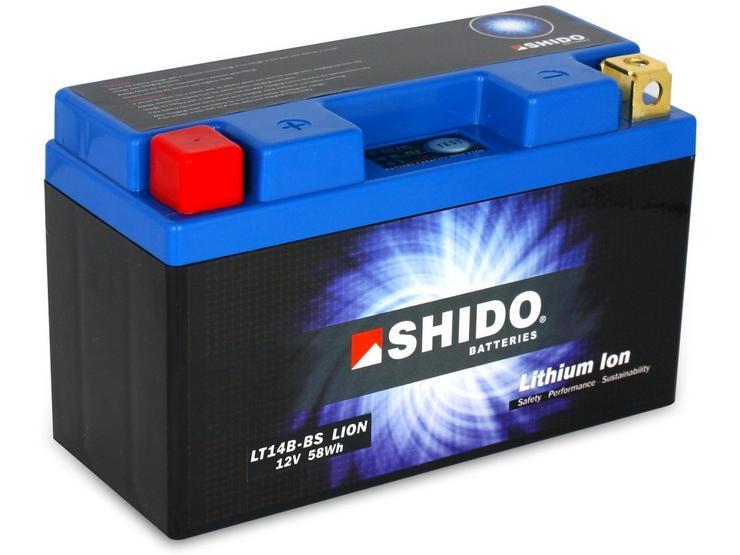 Shido Lithium Battery LT14B-BS